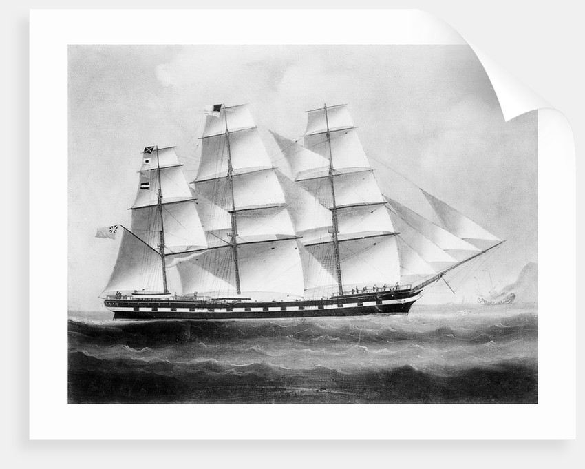 The ship 'Tyburnia' (1857) by British School