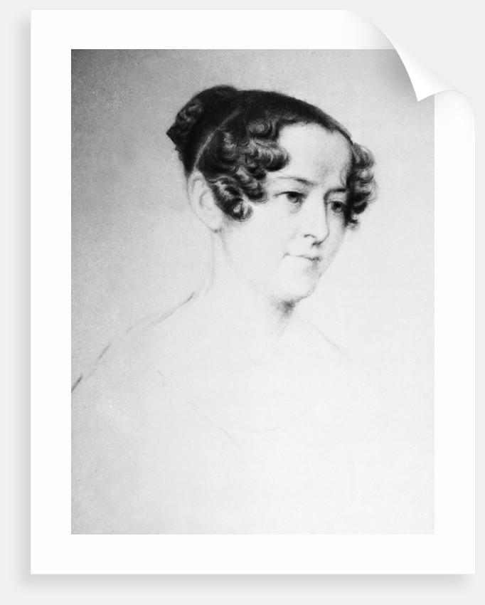 Portrait of Lady Jane Franklin (1791-1875) by unknown