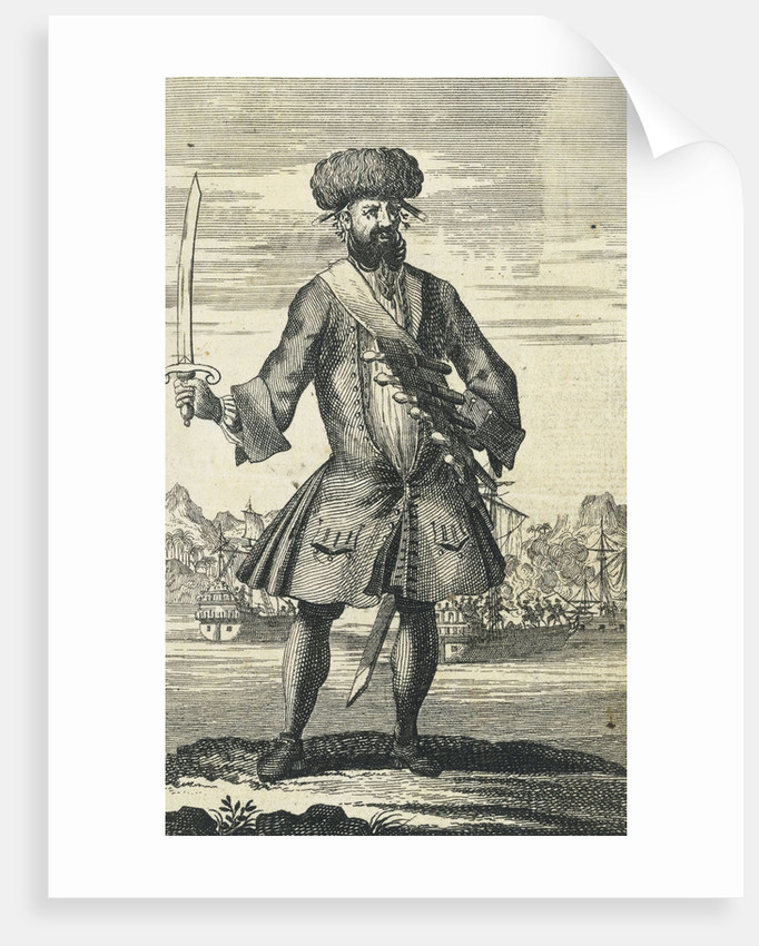 The pirate Blackbeard by B. Cole