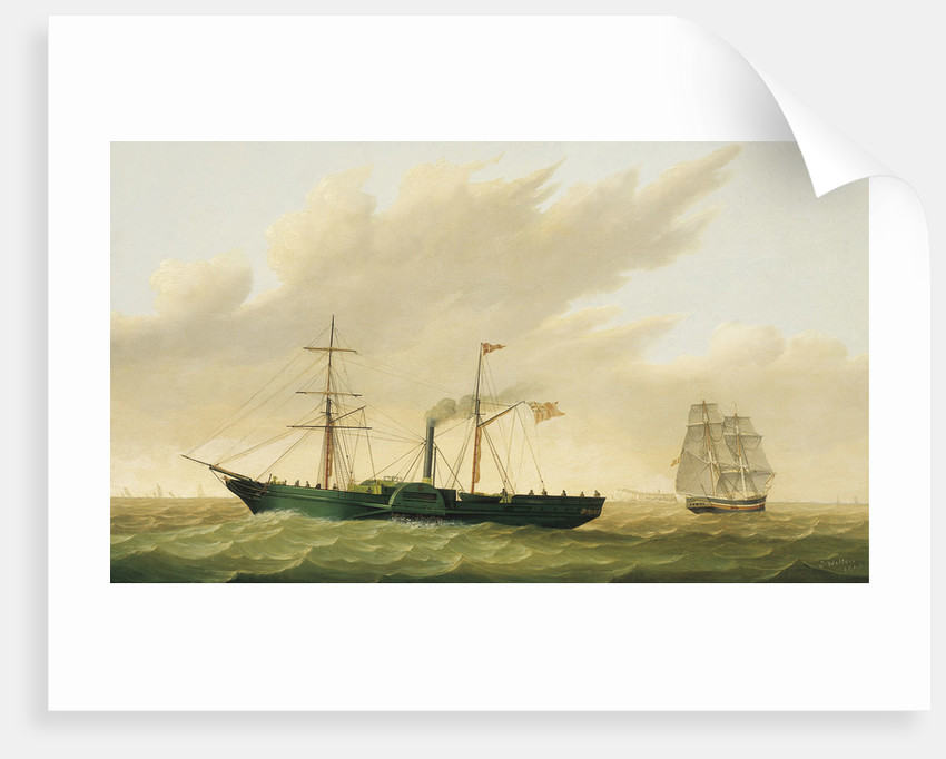 Paddle steamer 'Sirius' by Samuel Walters