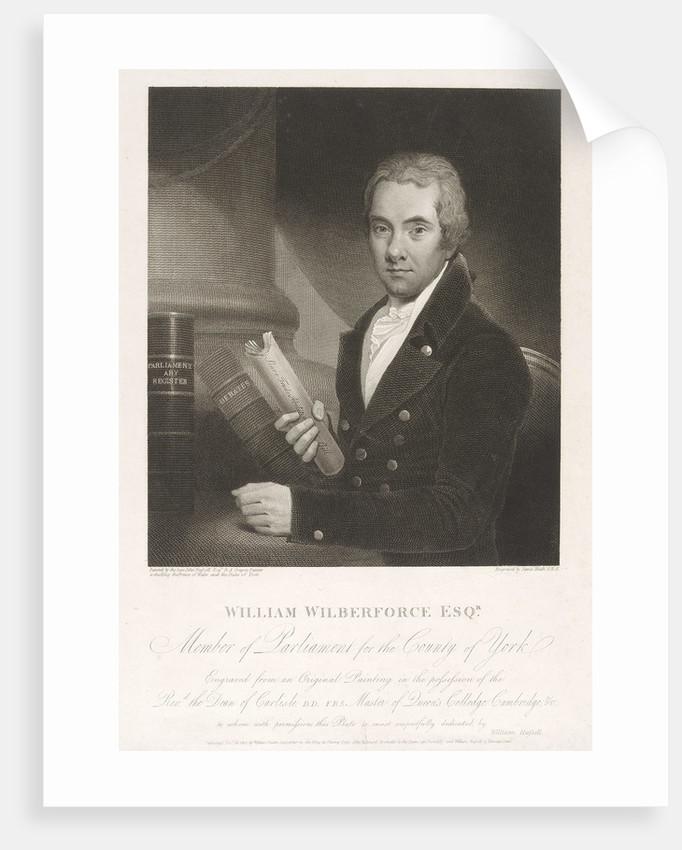 William Wilberforce Esq. by James Heath