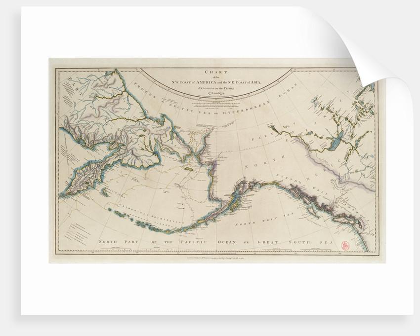 Cook's Third Voyage 1778-1779 by William Faden