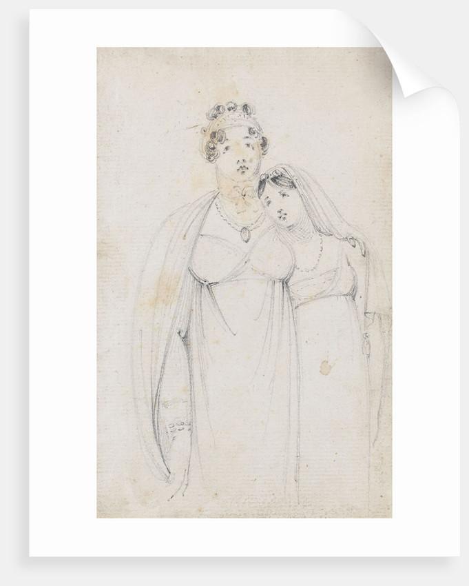 Emma Hamilton with Charlotte Nelson by Thomas Baxter