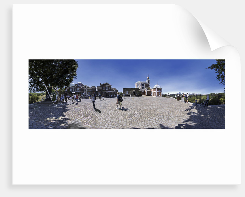 Courtyard of the Royal Observatory, Greenwich by National Maritime Museum Photo Studio