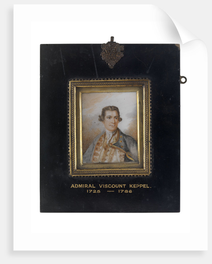 Augustus Keppel, Viscount Keppel (1725-1786) by unknown