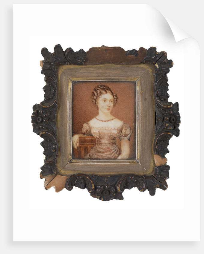Elizabeth Diana Larkan (1790-1852) by unknown