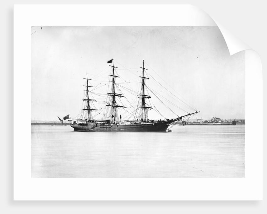 3-masted ship 'Light Brigade' (Br, 1854) by unknown
