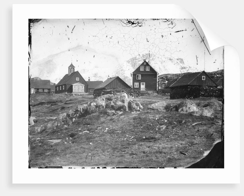 Holsteinborg (now Sisimiut) by Edward Augustus Inglefield