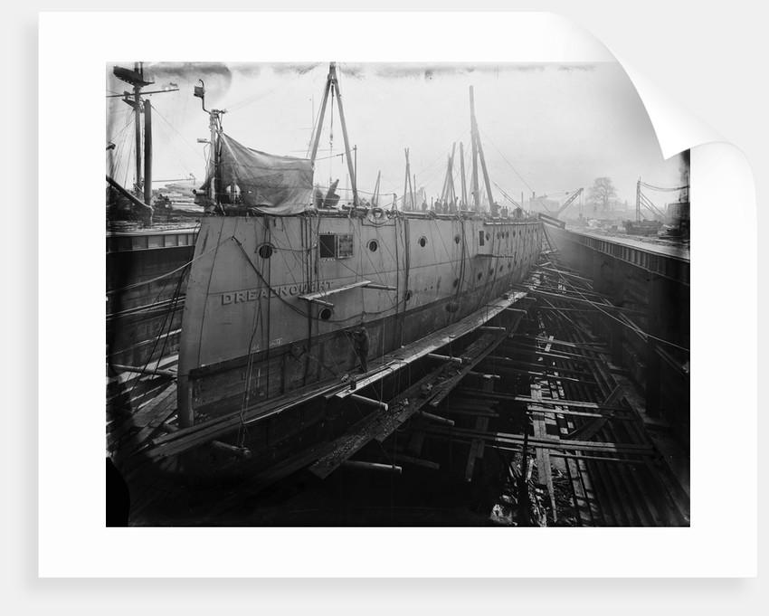Battleship HMS 'Dreadnought' (1906) by unknown