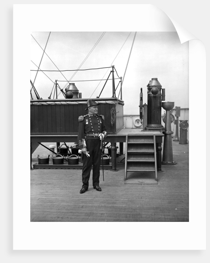 Captain W. T. Turner of the 'Aquitania' (1914) by Bedford Lemere & Co.