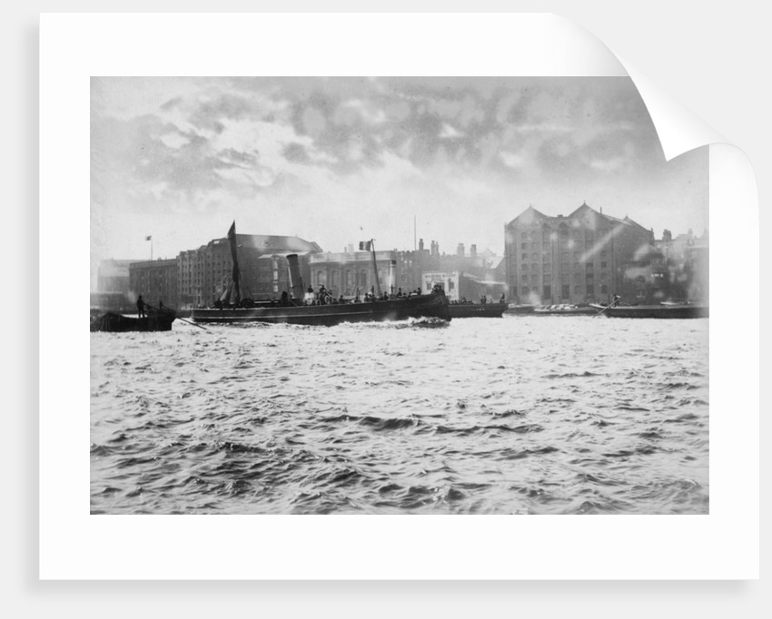 St John's Wharf, Wapping, London by unknown