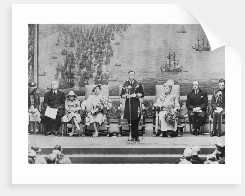 The Royal Opening of the National Maritime Museum, 1937 by unknown