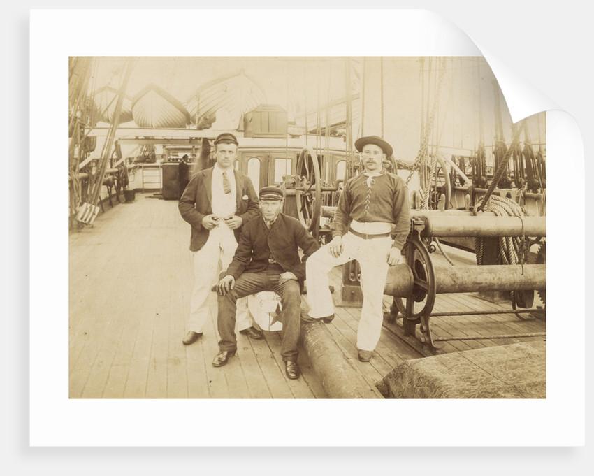 Deck of 'Cutty Sark' (1869) under Captain Woodget by unknown