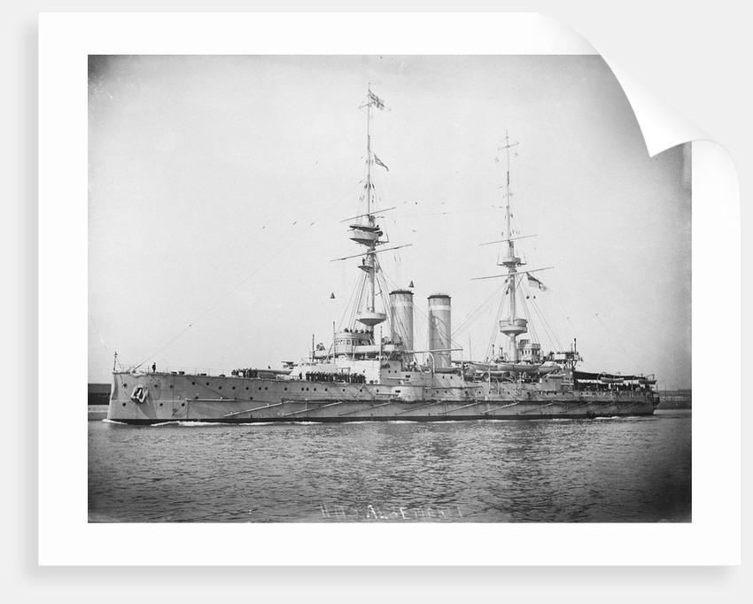 HMS 'Albemarle' (1901) battleship by unknown