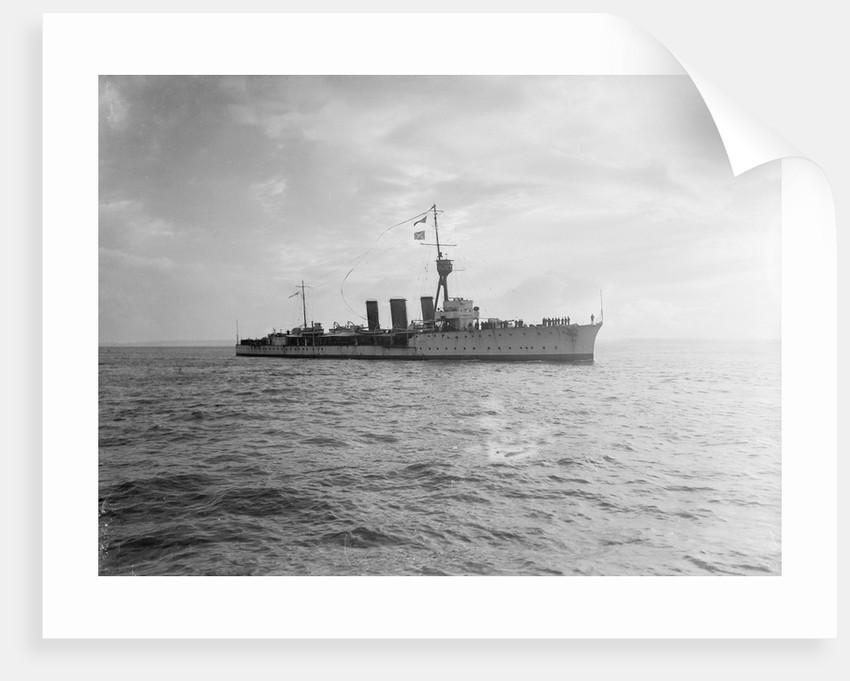 Light cruiser HMS 'Caroline' (1914) by unknown
