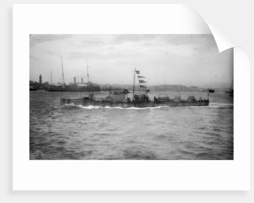 Torpedo boat, 1st class HMS 'TB 101' (1888) by unknown