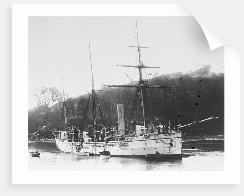 Composite screw gunboat HMS 'Pigeon' (1888) by unknown