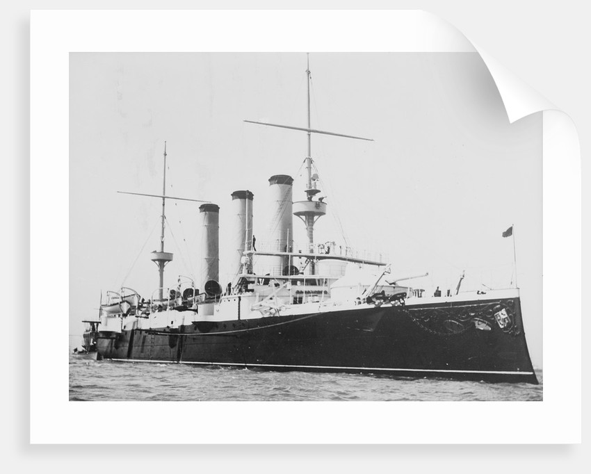 Protected cruiser 'Emperador Carlos V' (Sp, 1895) by unknown