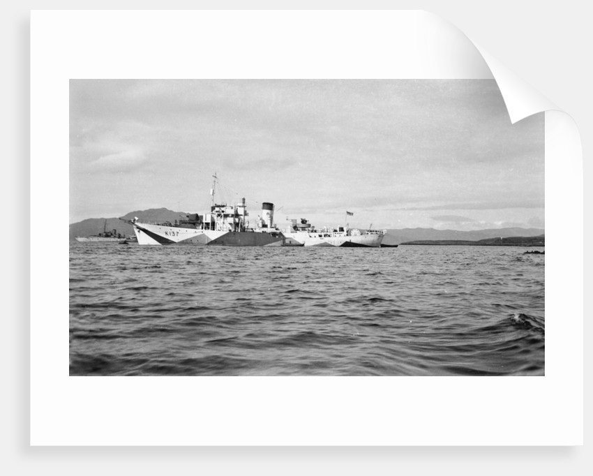 HMS 'Pink' (1942) by unknown