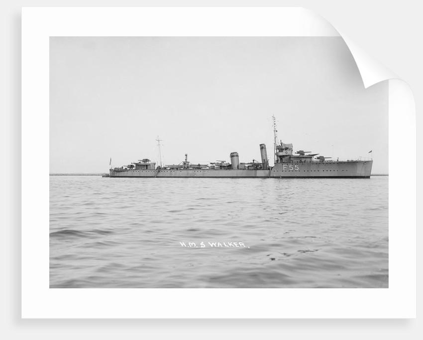 Destroyer HMS 'Walker' (1917) by unknown