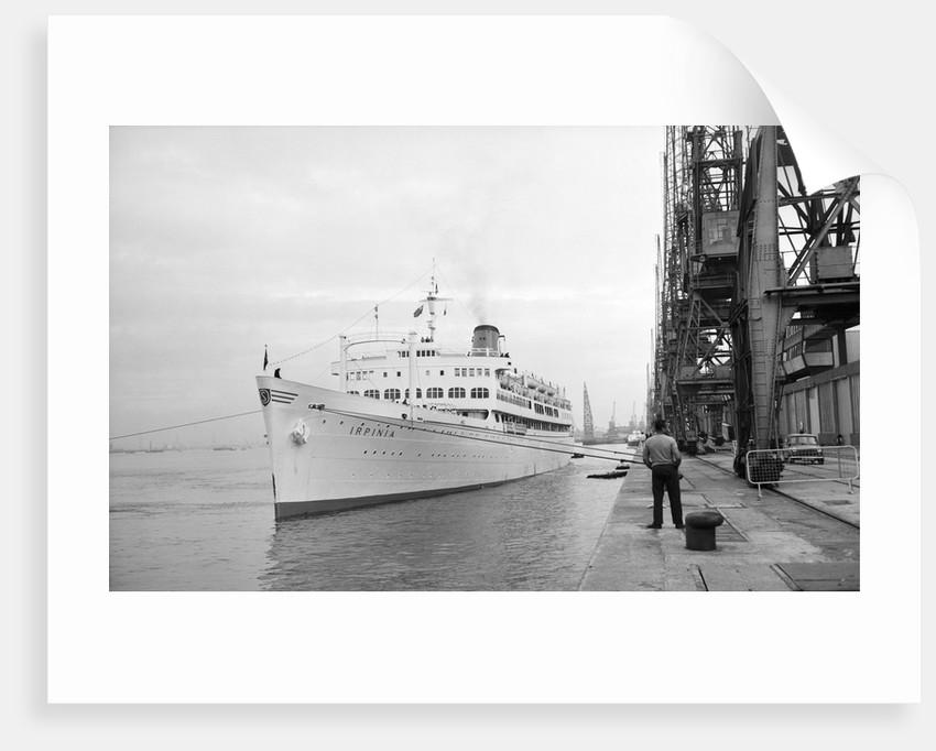 Passenger liner, motor, 'Irpinia' (Italy, 1929) ex 'Campina', ex 'Rio Jachal', Armatori Grimaldi Fratelli, managers by unknown