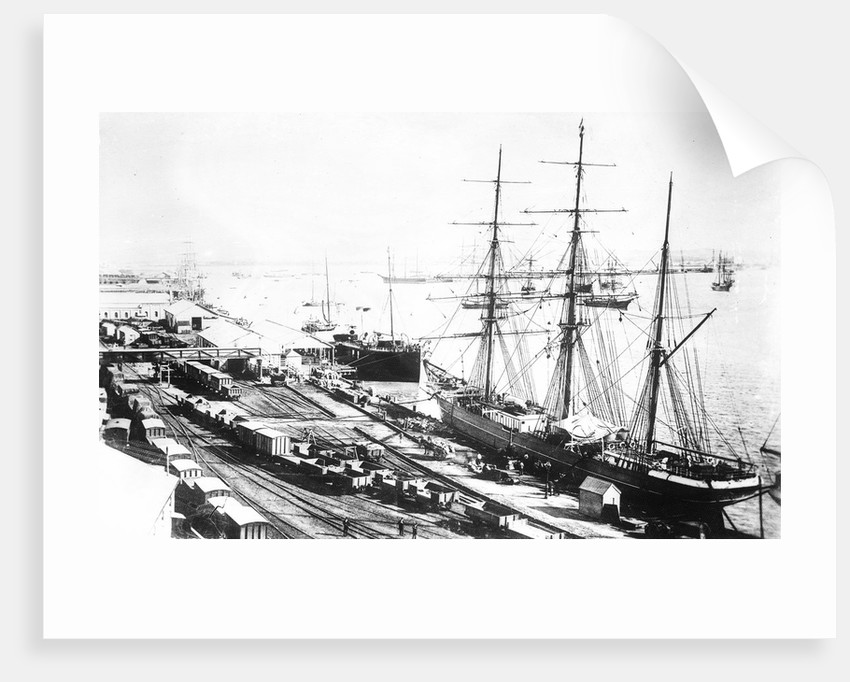 'Chittagong' (Br, 1864) 3 masted barque by unknown
