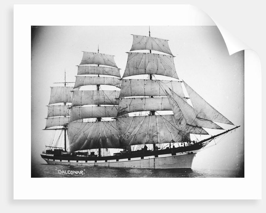 'Dalgonar' (Br, 1892) under sail by unknown