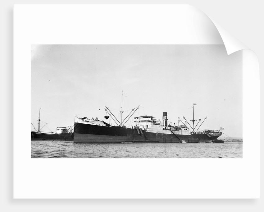 The 'Anna' (Gr, 1919) moored at Port Said by unknown