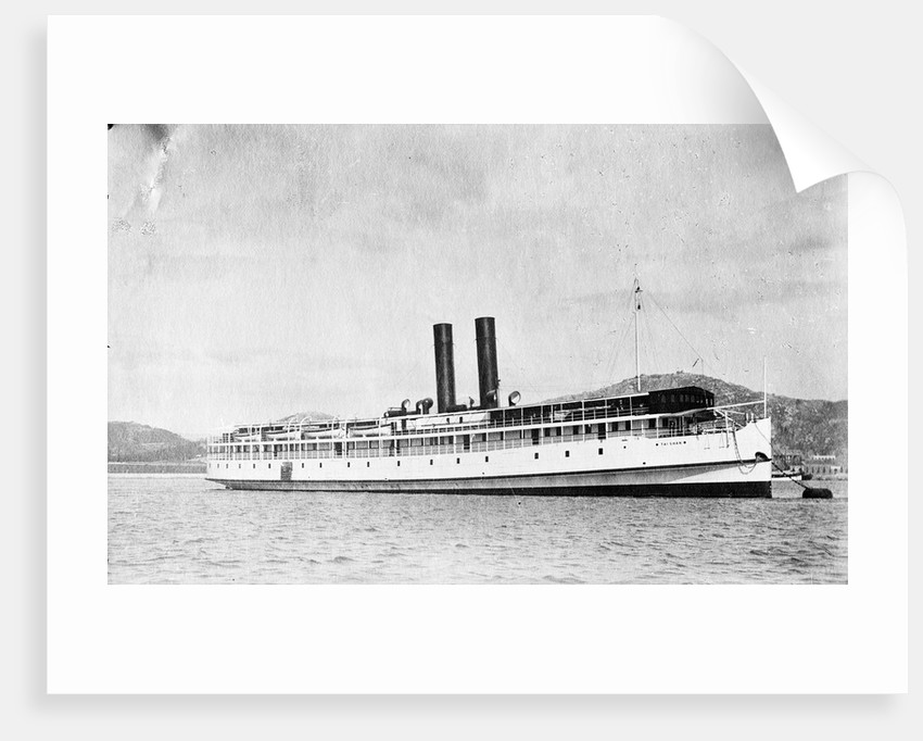 Short sea passenger vessel 'Taishan' (Br, 1913) for river purposes only by unknown