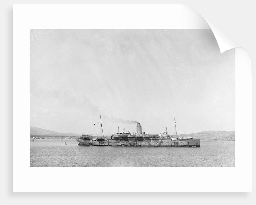 Aragon (Br 1905), at Suda Bay by unknown