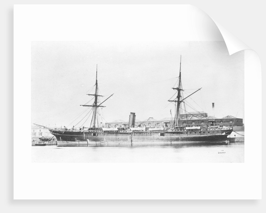 'Douro' (Br, 1865), passenger/cargo liner by unknown