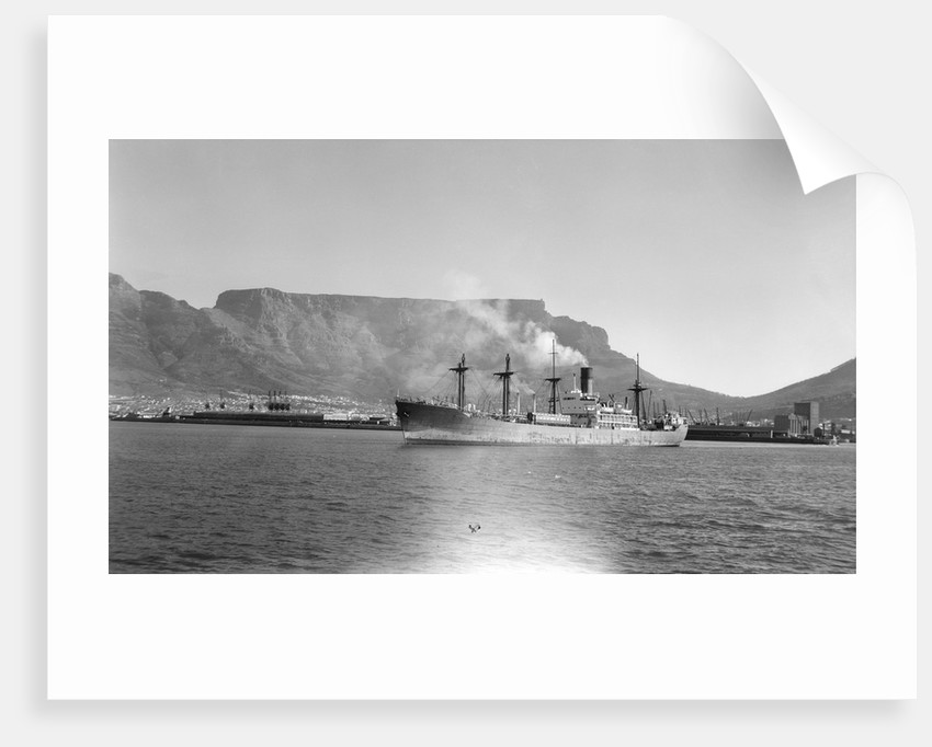 'Good Hope Castle' (Br, 1945), in Cape Town harbour by unknown