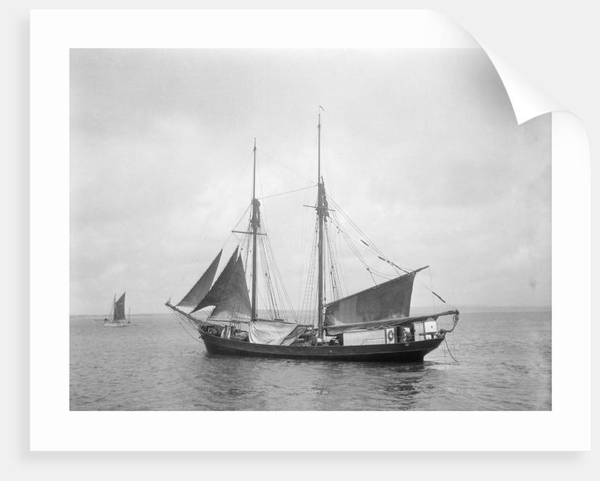 The 2 masted schooner 'Rothersand' (Britain, 1907), ex 'Heinrich Linnemann', Albert Westcott (Plymouth) by unknown
