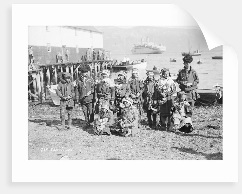 Sami people of northern Norway, circa 1935 by Marine Photo Service