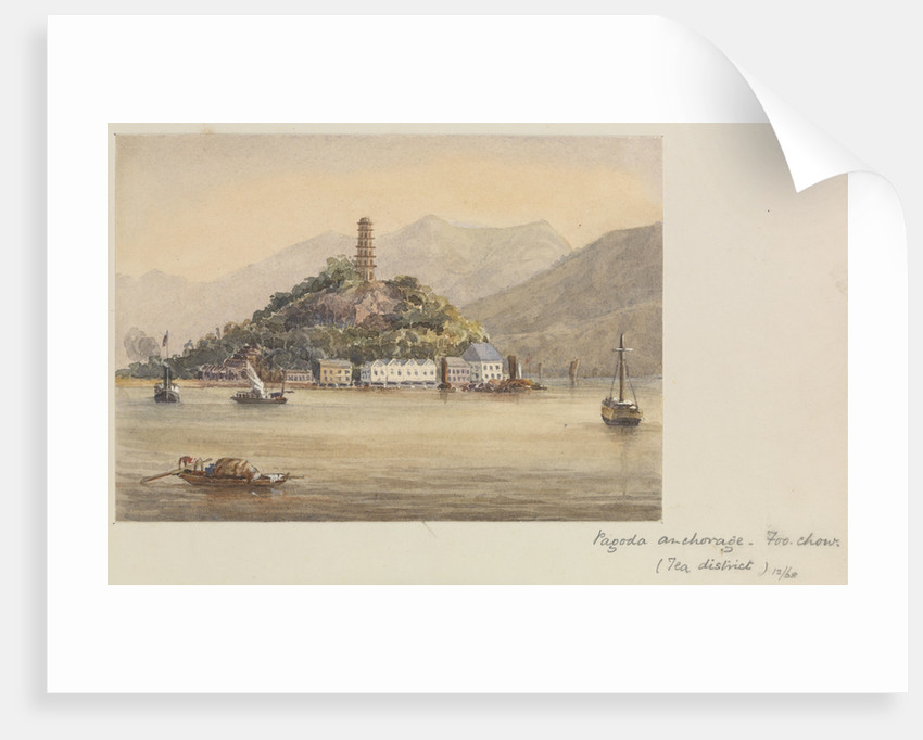 'Pagoda anchorage, Foo Chow (Tea district)' Fuzhou, China by James Henry Butt