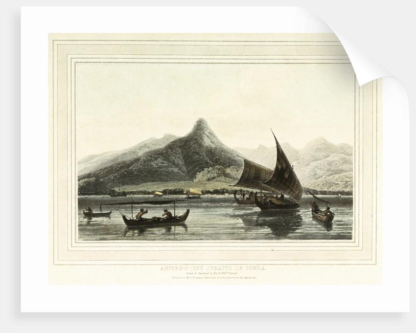 Anjere-Point Straits of Sunda by Thomas Daniell