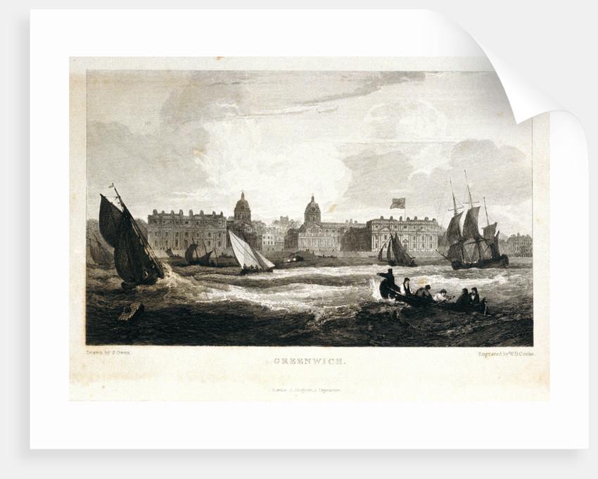 Greenwich [Greenwich Hospital] by Samuel Owen