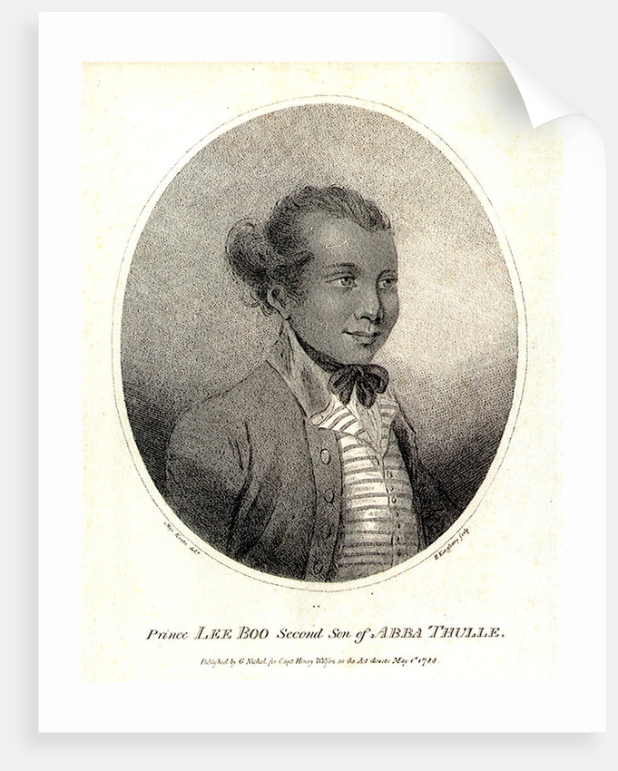 Prince Lee Boo Second Son of Abba Thulle by Miss Keate
