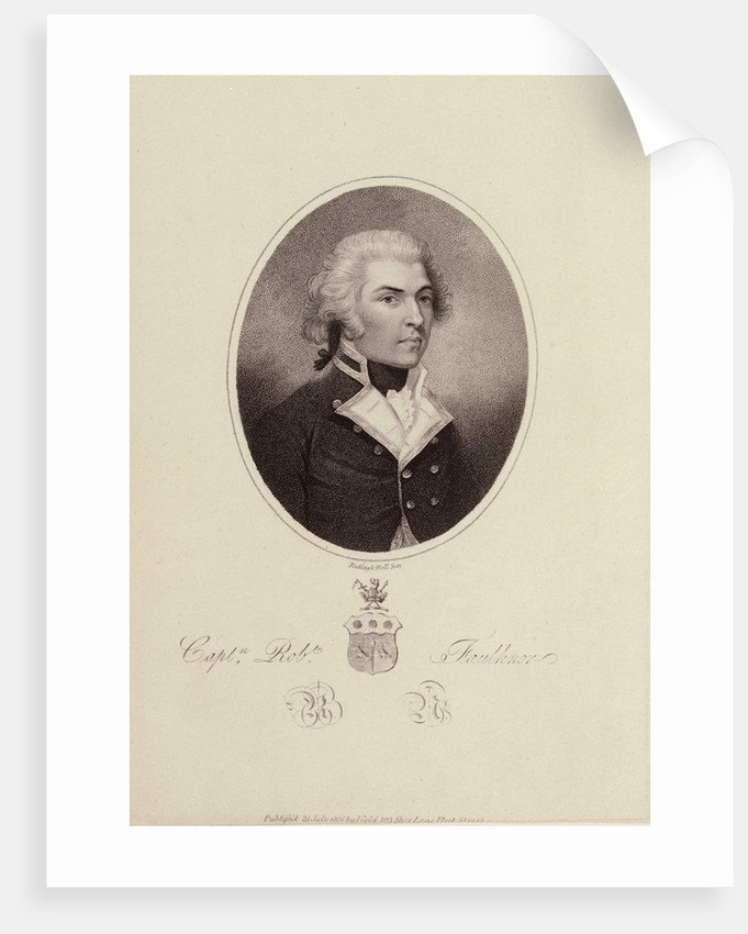 Captain Robert Faulknor RN by William Ridley