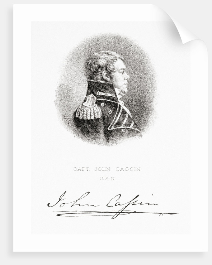Captain John Cassin, United States Navy by G. R.