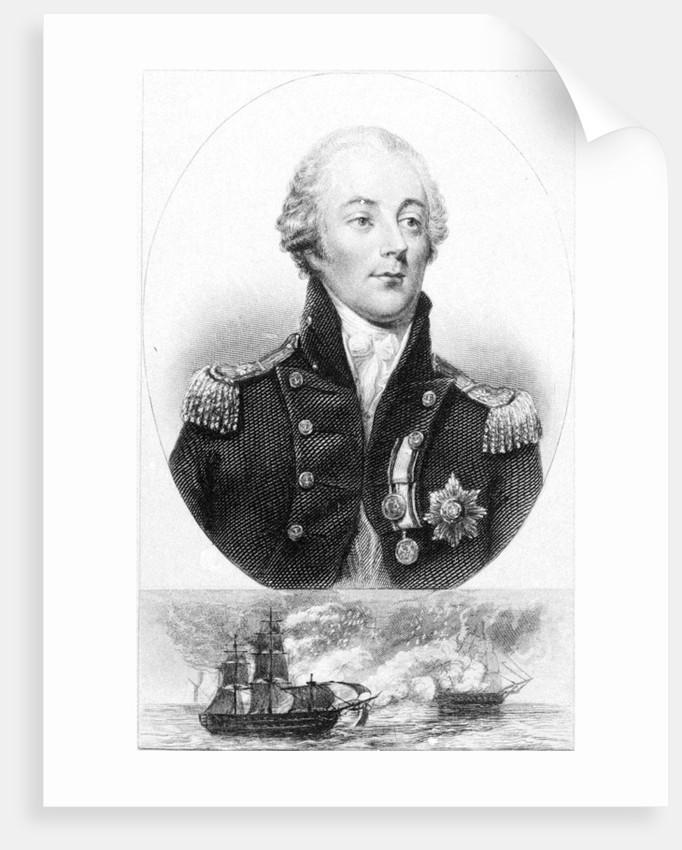 Rear Admiral Sir James Saumarez, K.B. by Jean