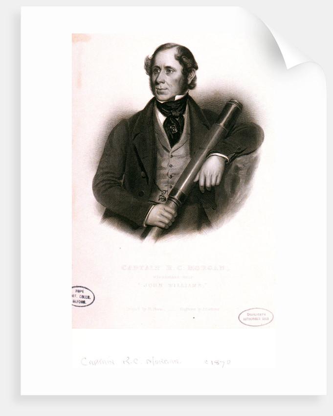 Captain R.C. Morgan, missionary ship John Williams by J. Cochran