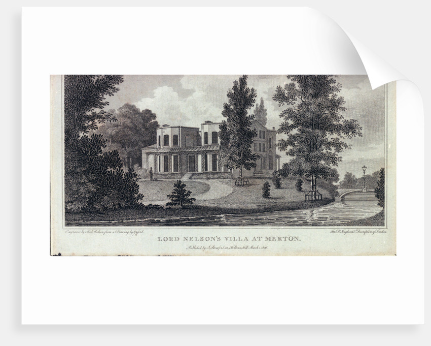 Lord Nelson's villa at Merton by Gyford