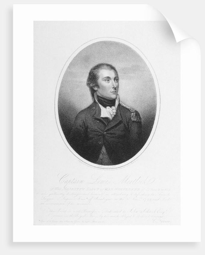 Captain Lewis Mortlock by John James Masquerier