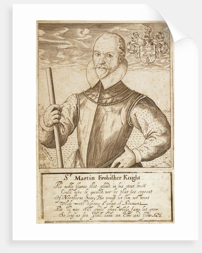 Sir Martin Frobisher by unknown