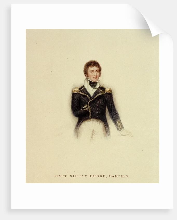 Captain P.V. Broke, Royal Navy by unknown