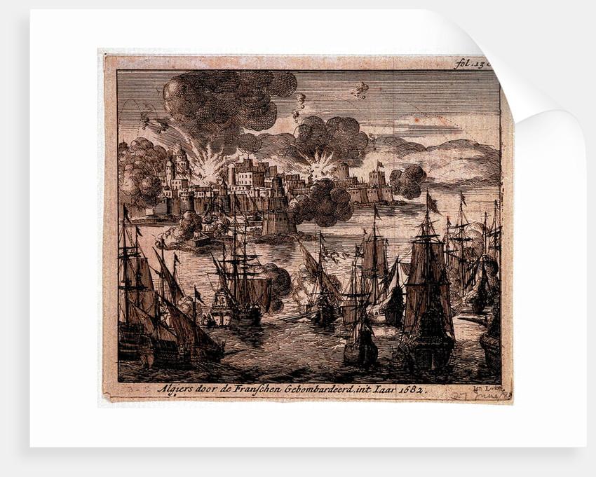 Bombardement of Algiers, 1682 by Jan Lurketz