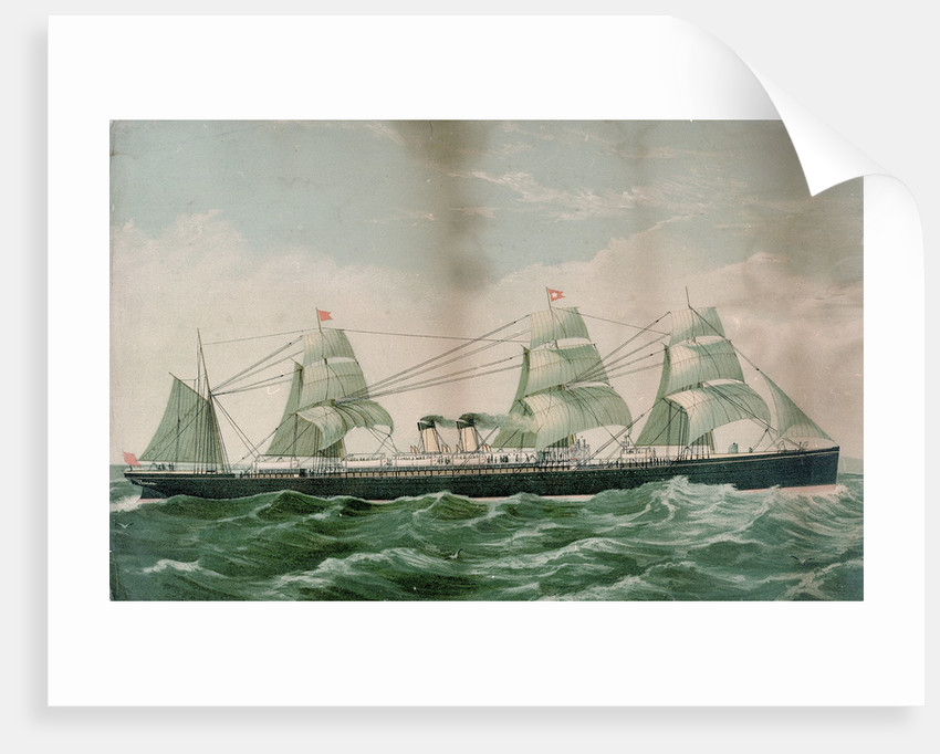 The 'Britannic' by unknown