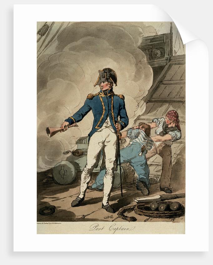 Post Captain by John Augustus Atkinson