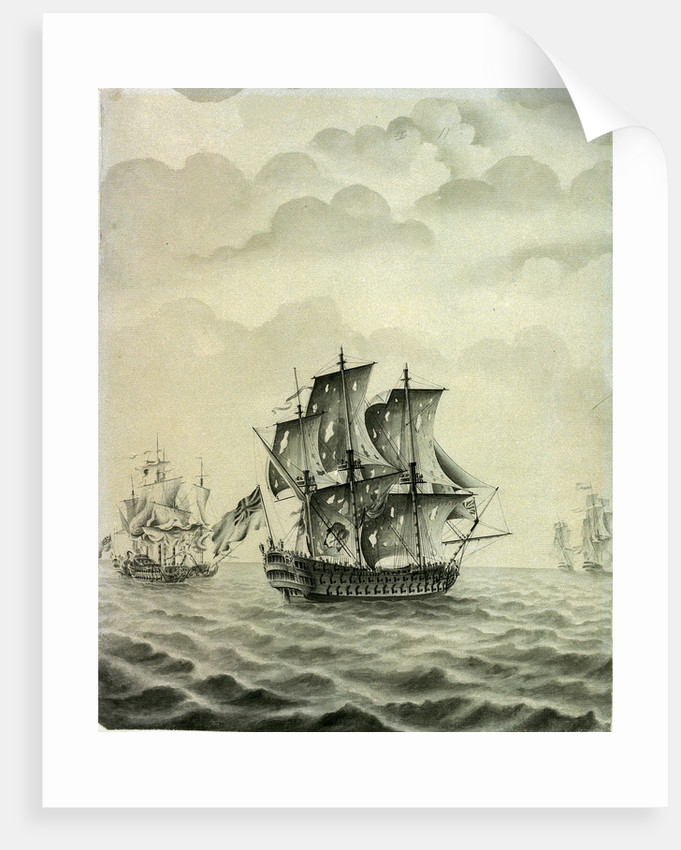 The 'Warspite' by John Hood